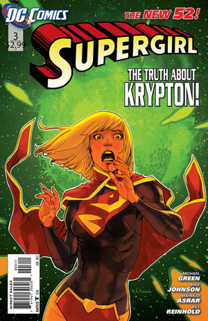 Cover for Supergirl #3