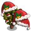 Santa Hat Tree-icon