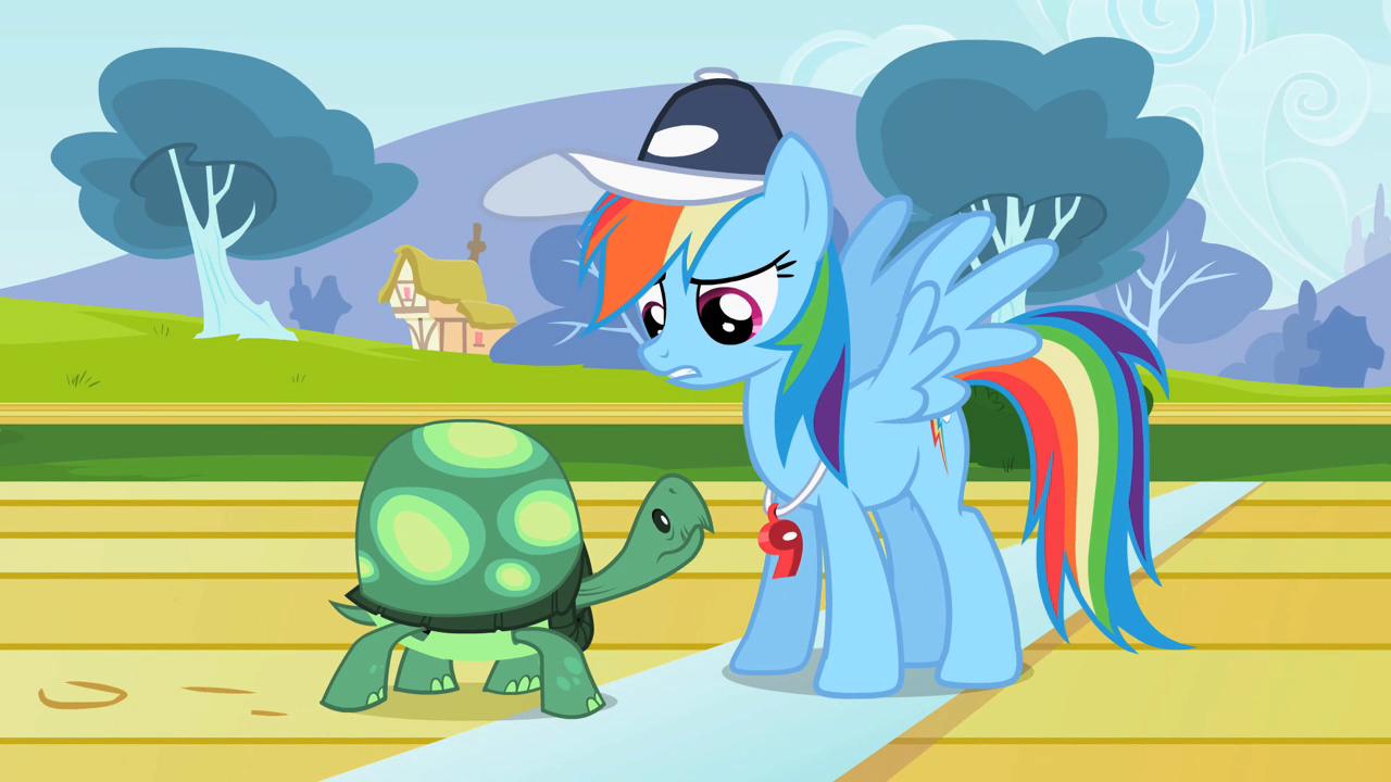My little pony scootaloo and rainbow dash kiss