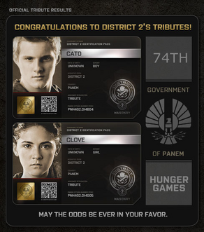 District 2 Tributes