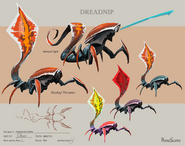 Dreadnip concept art