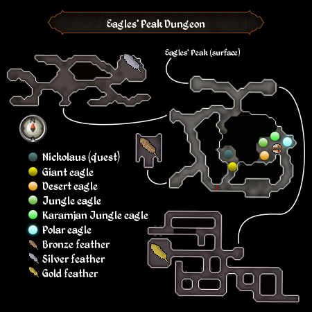 Eagles peak dungeon