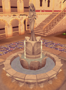 Elspeth statue