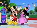 MinniesMasquerade - Prince Mickey and Princess Minnie