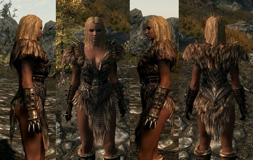 Just Found Ancient Nord Armor Loving It Whats Your Fav V Skyrim