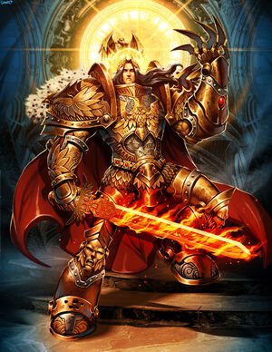 Images heroic fantasy ou futuriste 300px-Emperor_of_Mankind_by_genzoman