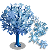 Snowflake Tree-icon