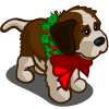 Holiday St. Bernard-icon