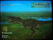Tyrannosaurus Rex hunting and wandering around
