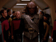 Worf Klingon uniform
