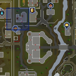 Ardougne Rat Pits location