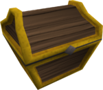 Mahogany prize chest POH