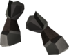 Miner gauntlets (iron) detail