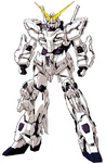 Deactivated Gundam Unicorn