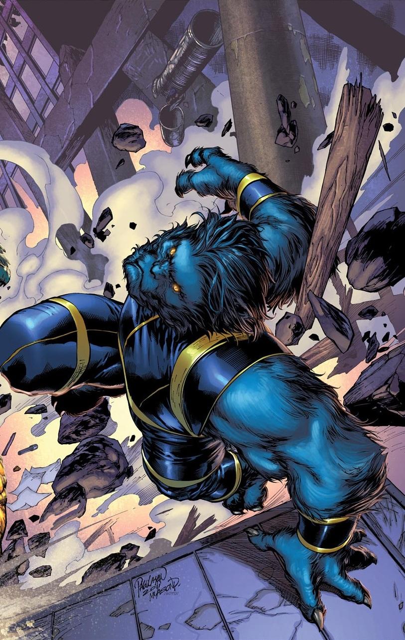 Wolverine, Sabertooth, and Beast vs Gorilla Grodd ...