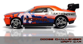 DC DRIFT CAR HEADER
