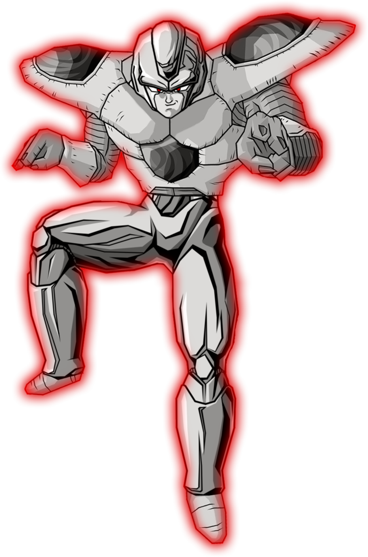 Warrior Alpha http://ultradragonball.wikia.com/wiki/Project_Z(alpha_warrior)