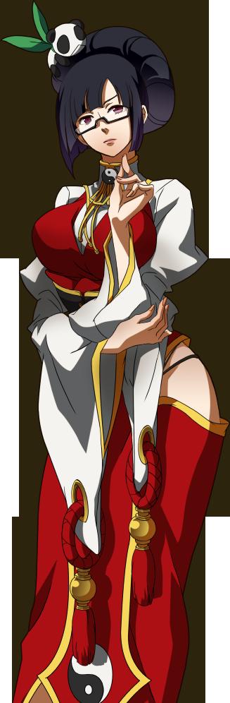 Litchi, la doctora Litchi_Faye-Ling_(Story_Mode_Artwork,_Normal,_Alternate_Outfit)