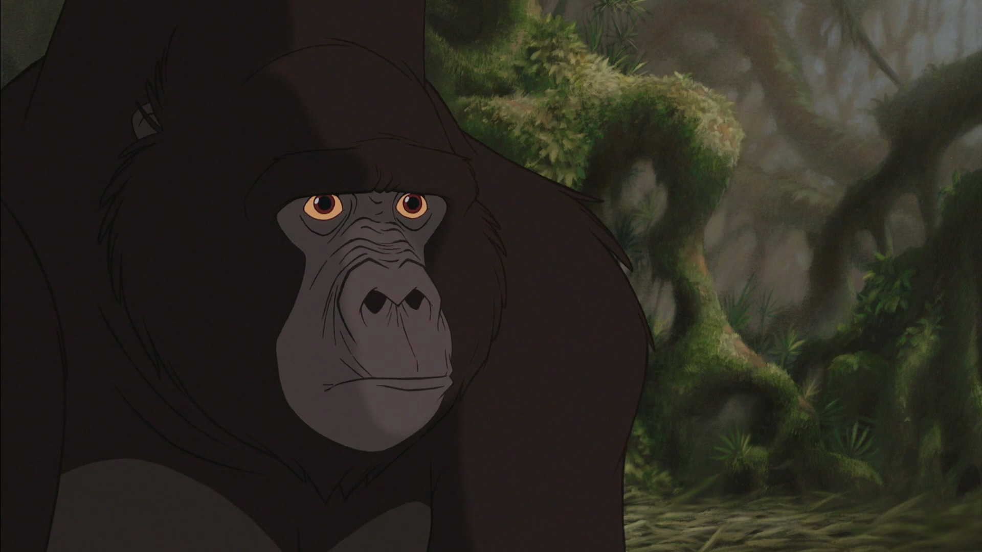 Kerchak disney wiki - Tarzan gorille ...