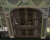 Smithing door