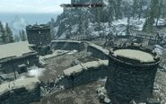 Skyrim location Helgen destroyed