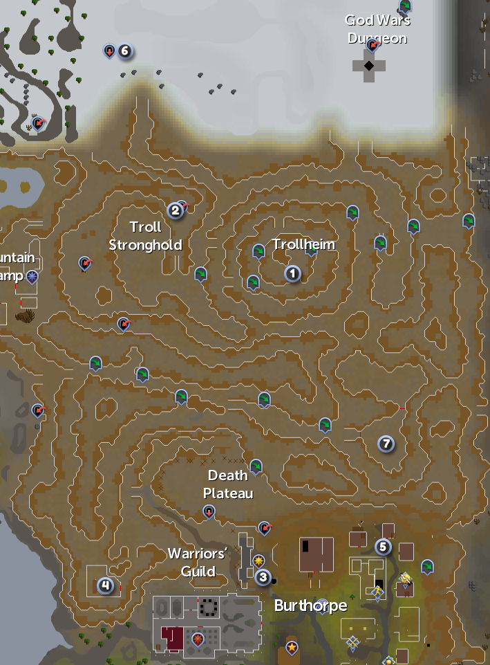 TR mountainmap