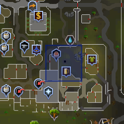 Ratpit bar (Varrock) location