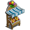 Gum Drop Market Stall-icon