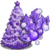 Purple Holiday Tree-icon