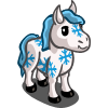 Snowflake Mini Horse-icon