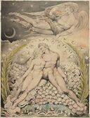 Blake&#39;s Adam and Eve