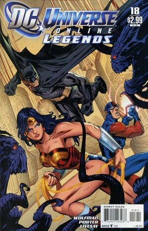 Cover for DC Universe Online Legends #18