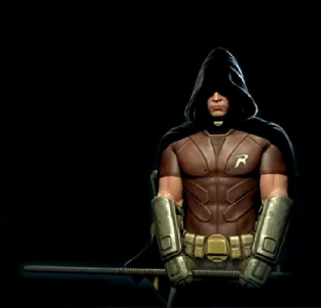 comic world arkham city robin