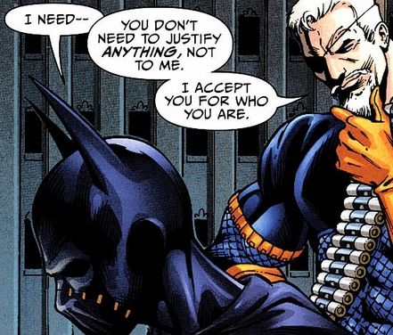 Deathstroke Without Mask Image - 885038-deathst...