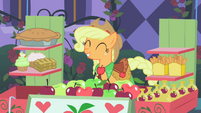 Applejack happy to make first sale 3 S1E26