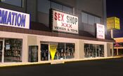 Sex shop-the strip