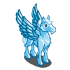 Icy Blue Pegasus-icon
