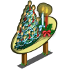 Giant Holiday Candle Tree Mastery Sign-icon