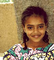Ouaddaian girl from Chad