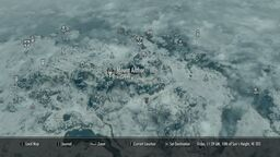 Mount Anthor Map