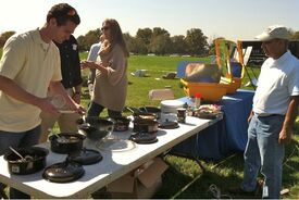 TIDES solar cooking exhibit 10-11, 3