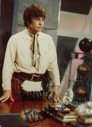 Frazer hines signed photo