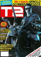 Terminator 2 Judgement Day Movie Magazine