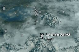Lost Tongue Overlook Map