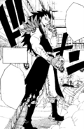 Gajeel's full appearance