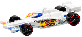 2011 indycar ovalcourse race car 2012 white