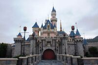 Sleeping Beauty Castle of Hong Kong Disneyland