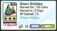 Giant Holiday Candle Tree Market Info