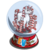 Candy Cane Unicorn Snow Globe-icon