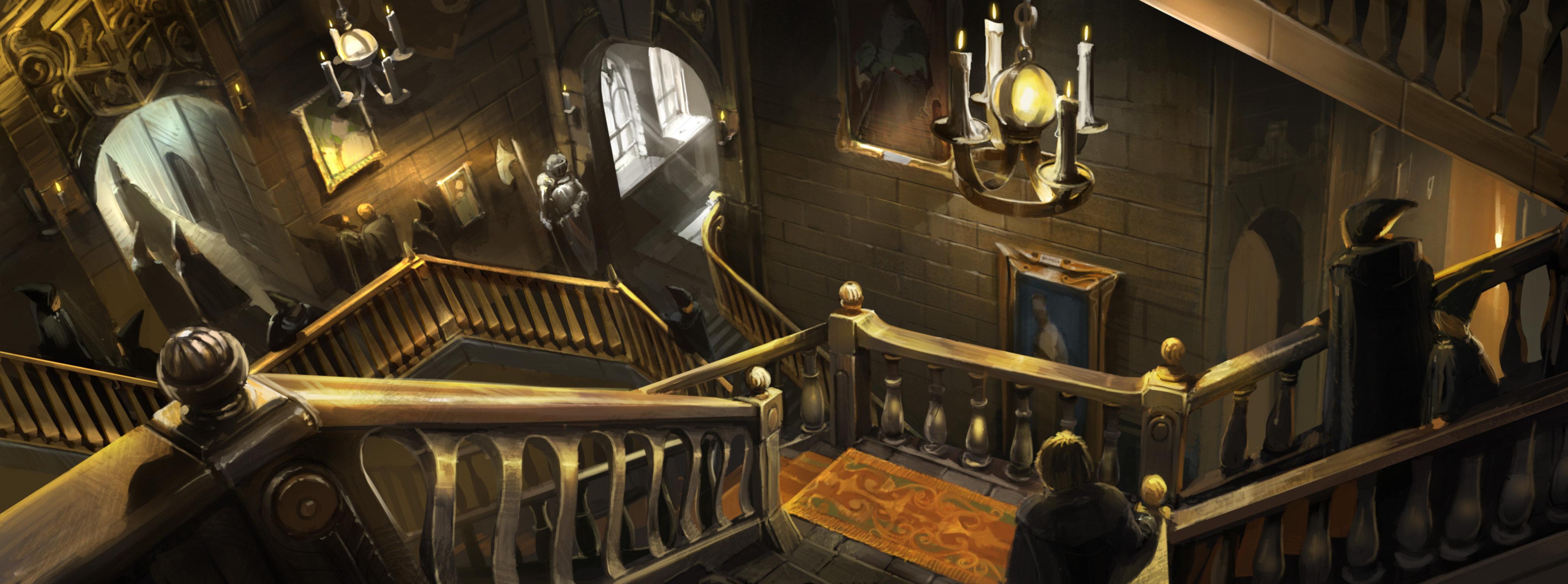 Более 40 иллюстраций к книге Гарри Поттер и философский камень для